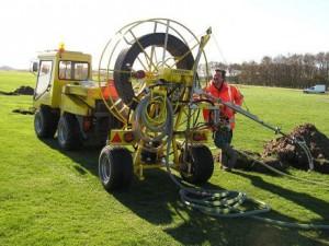 Foto van onze drainagereiniger